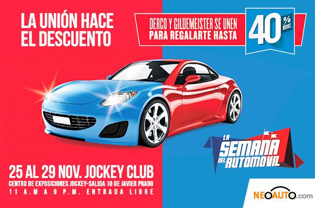 """Derco y Gildemeister presentan la """"Semana del automóvil"""""""